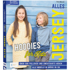 "Buch - ""Alles Jersey - Hoodies for Kids"" von KREANDO: 18015"