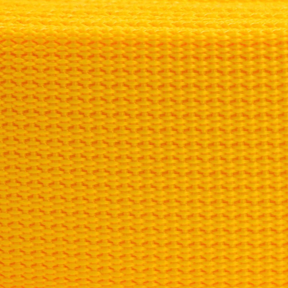 Sangle polyester div largeurs au m tre jaune - Sangle au metre ...