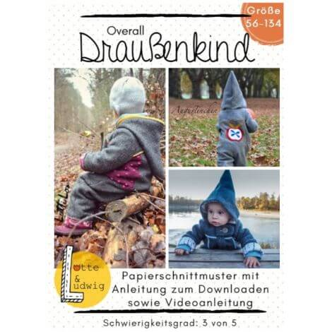 2349336f5a Schnittmuster Kinder Overall
